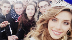 Camille Cerf, Miss France 2015 de reour dans le Nord Pas de Calais