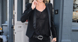 Kate Moss brindille rock chic à Londres