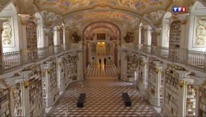Le 13 heures du 19 mars 2014 : Biblioth�e d%u2019ici et d%u2019ailleurs (3/5) : la biblioth�e des moines autrichiens - 2151.3796704711917