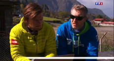 Le 20 heures du 3 mai 2015 : Avalanche sur l'Everest : une semaine après, des rescapés témoignent - 1214.111