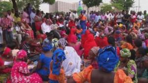 Manifestation de mères Nigéria
