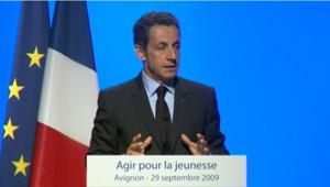 Nicolas Sarkozy jeunesse RSA