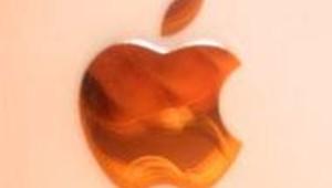 Pomme d'Apple sur le nouvel iMac
