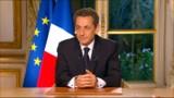 Sarkozy adresse samedi soir les derniers voeux de son mandat
