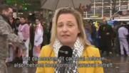 Agression en direct d'une journaliste belge au carnaval de Cologne