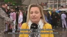 Agression en direct d'une journaliste belge au carnaval de Cologne