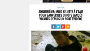 Capture d'écran de La Charente Libre