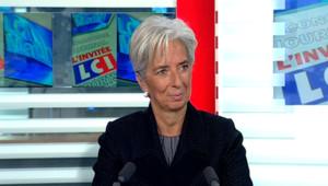 LCI - Christine Lagarde est l'invitée politique de Christophe Barbier