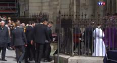 Le 20 heures du 30 mars 2015 : A Paris, des obsèques intimes pour Florence Arthaud - 1444.9640000000002