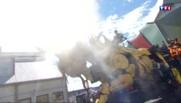 Long Ma, le légendaire cheval-dragon envahit les rues de Calais