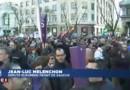 """Manifestation à Madrid : Mélenchon espère un """"effet domino"""" jusqu'à la France"""