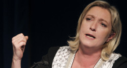 Marine Le Pen. 