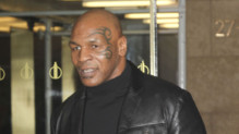 Mike Tyson à New York le 30 octobre 2014.