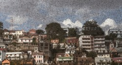 Nuage de criquets à Antananarivo