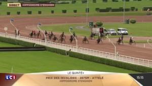 Replay du Quinté du 18/06/16 - Hippodrome d'Enghien