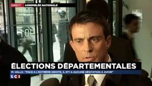 """Valls : """"Je demande à Sarkozy de se reprendre"""""""