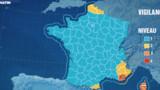 Vents : alerte Orange dans le Var et en Corse
