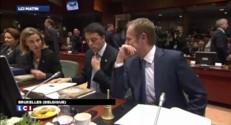 """Les Européens réunis au sommet appellent Moscou à un """"changement radical"""""""