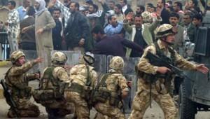 soldats britanniques irak