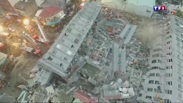 Taïwan : après le séisme, la question du défaut de construction posée