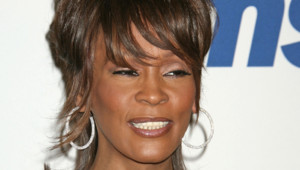 Whitney Houston en 2008.