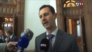 """Bachar al-Assad : """"Nous souffrons de la même menace terroriste depuis 5 ans"""""""