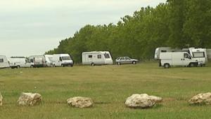 caravanes gens voyages gitans roms camps