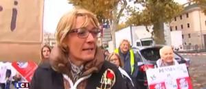 """Les """"Pendus"""" manifestent à Carcassonne"""