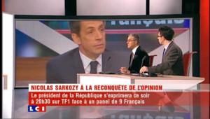 """Paroles de Français : les participants n'ont pas été """"triés sur le volet""""ssion au moment où Sarkozy est au plus mal"""