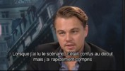 Inception - Interview exclusive Leonardo DiCaprio