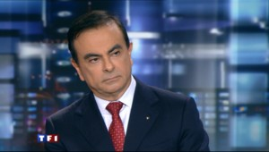 Carlos Ghosn au 20H de TF1 le 14 mars