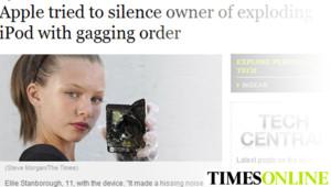L'article du Times Online