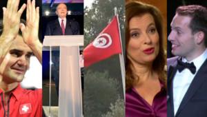 Photomontage des 5 actualités à retenir du weekend du 22 et 23 novembre 2014