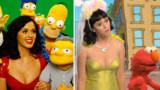Katy Perry chez les Simpson