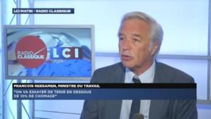 François Rebsamen sur LCI, le 24 juin.