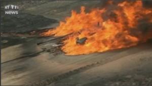 Incendie pipeline Colorado gaz