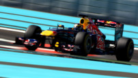 Jean-Eric Vergne Rookie Days 2011 F1 Abu Dhabi Red Bull