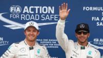 Nico Rosberg et Lewis Hamilton en Australie