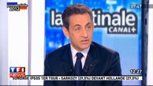 """Sarkozy : François Hollande """"s'époumonne"""""""