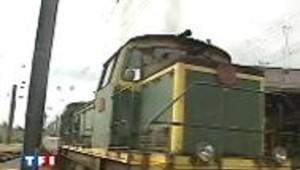 train sncf grève locomotive