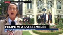 Felipe VI à l'Assemblée : des mesures de sécurité exceptionnelles