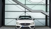 La Mercedes C450 à la sauce AMG : un V6 3 l biturbo de 367 chevaux et un 0-100 km/h expédié en 4,9 secondes (5 secondes pour la version break).
