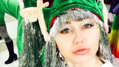Miley-Cyrus-prête-pour-Noël