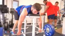 Rugby : journée d'entraînement pour les Bleus