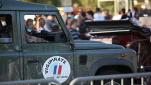 Véhicule militaire français affecté au plan Vigipirate