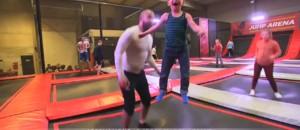 À Lille, le trampoline redevient tendance