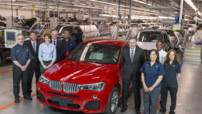 BMW X4 - usine Spartanburg