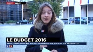 """Budget 2016 : """"Le gouvernement va acter la baisse de deux milliards d'euros d'impôts"""""""