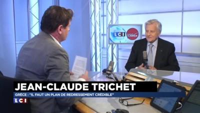 """Jean-Claude Trichet : """"La BCE ne doit pas prendre des décisions à la place des démocraties"""""""