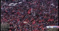 """Le 20 heures du 29 mars 2015 : Marche contre le terrorisme : des milliers de Tunisiens réunis sous le mot d'ordre, """"le monde est Bardo"""" - 259.153"""